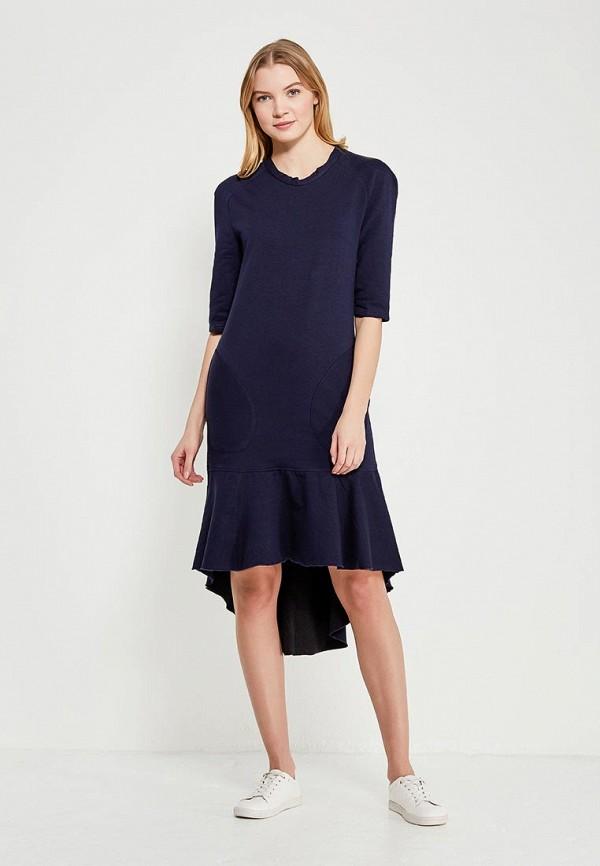 женское платье love & light, синее