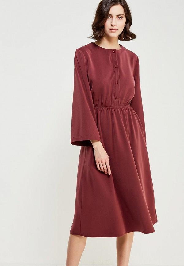 Купить Платье Love & Light, lo790ewzvh79, бордовый, Весна-лето 2018