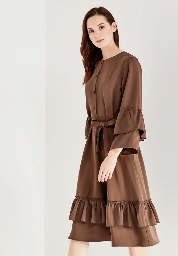 Купить Платье Love & Light, lo790ewzvh90, коричневый, Весна-лето 2018