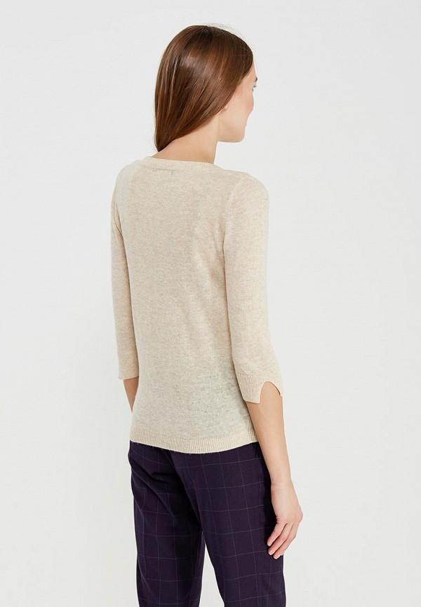 Фото 3 - женский пуловер Lusio бежевого цвета