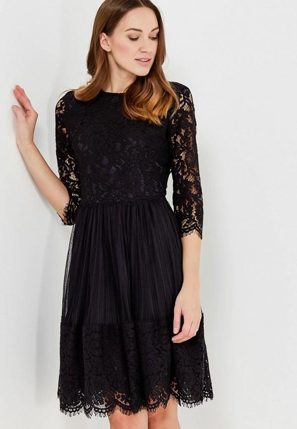 Купить Платье Lusio, lu018ewadsp7, черный, Весна-лето 2018
