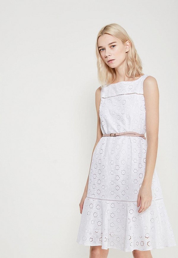 женское повседневные платье lusio, белое
