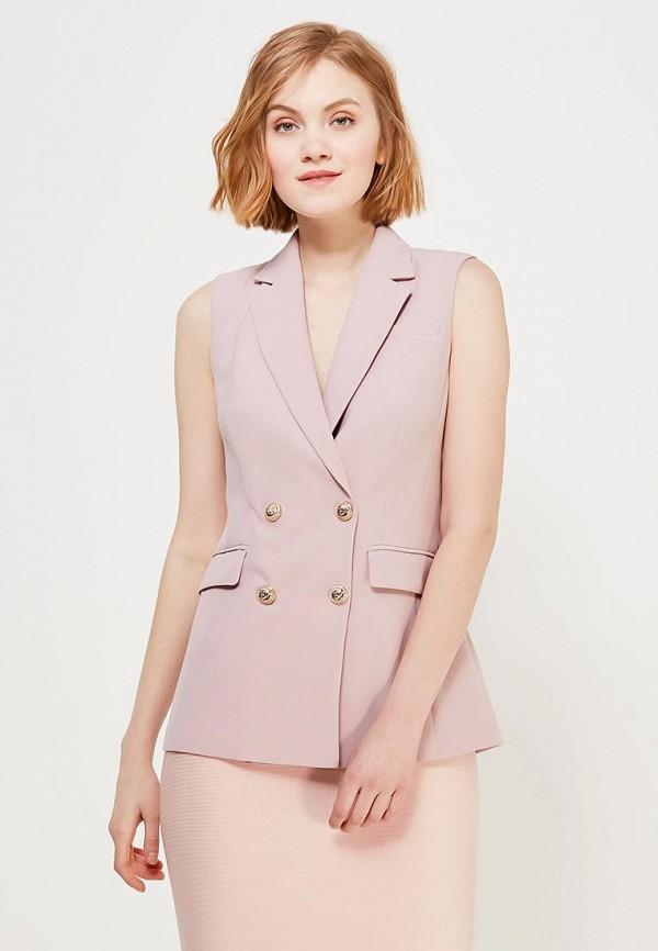 Купить Жилет Lusio, lu018ewaomz7, розовый, Весна-лето 2018