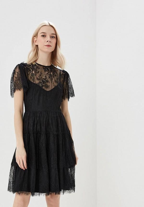 Купить Платье Lusio, lu018ewatgw0, черный, Весна-лето 2018