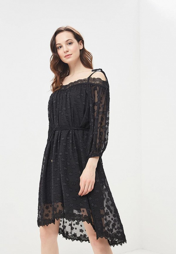 Купить Платье Lusio, lu018ewbiex2, черный, Весна-лето 2018