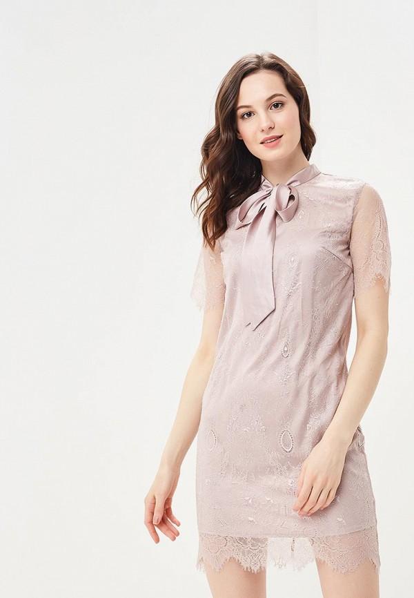 Платье Lusio, LU018EWBIEX4, розовый, Весна-лето 2018  - купить со скидкой