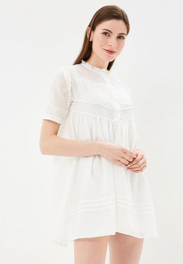 Купить Платье Lusio, LU018EWBMDE9, белый, Весна-лето 2018