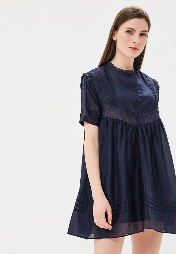 Купить Платье Lusio, LU018EWBMDF0, синий, Весна-лето 2018