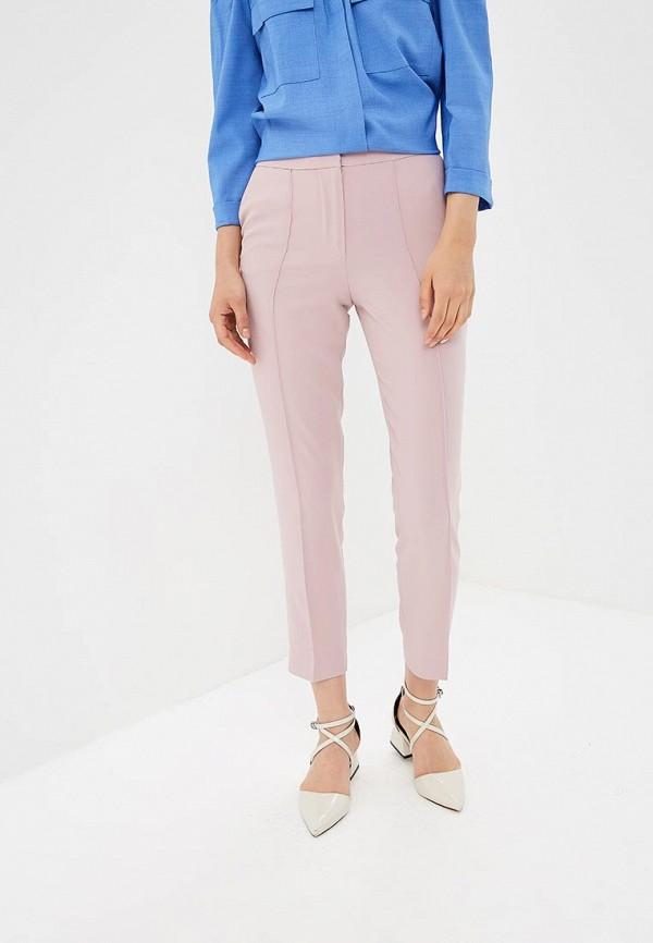 женские повседневные брюки lusio, розовые
