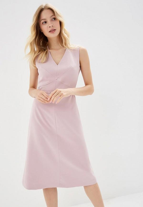 женское вечерние платье lusio, розовое