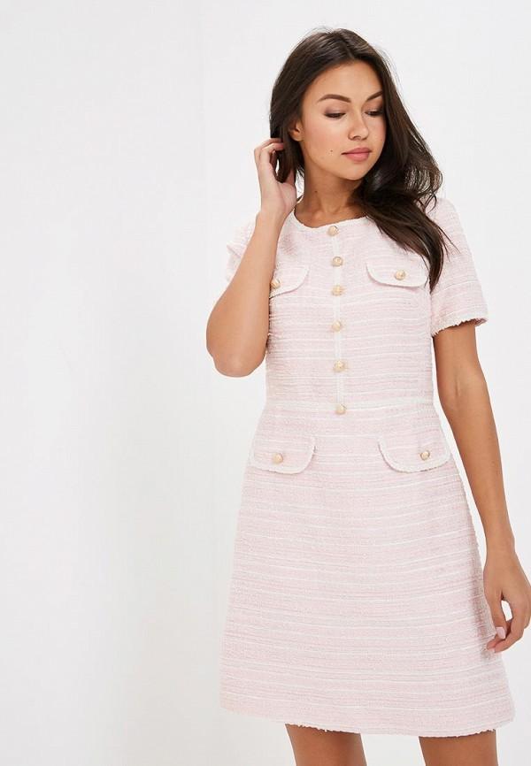 Купить Платье Lusio, lu018ewcmvs2, розовый, Весна-лето 2019