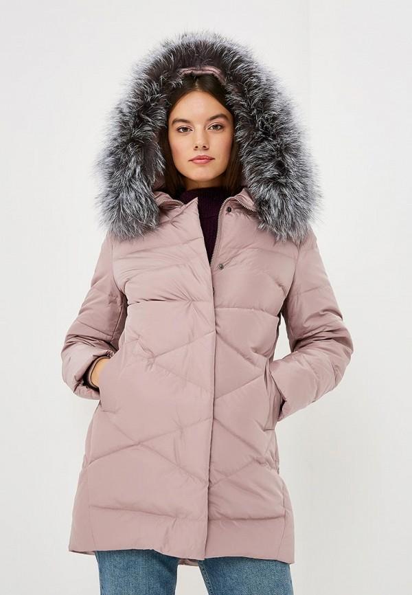 Купить Пуховик Lusio, lu018ewczkt0, розовый, Осень-зима 2018/2019