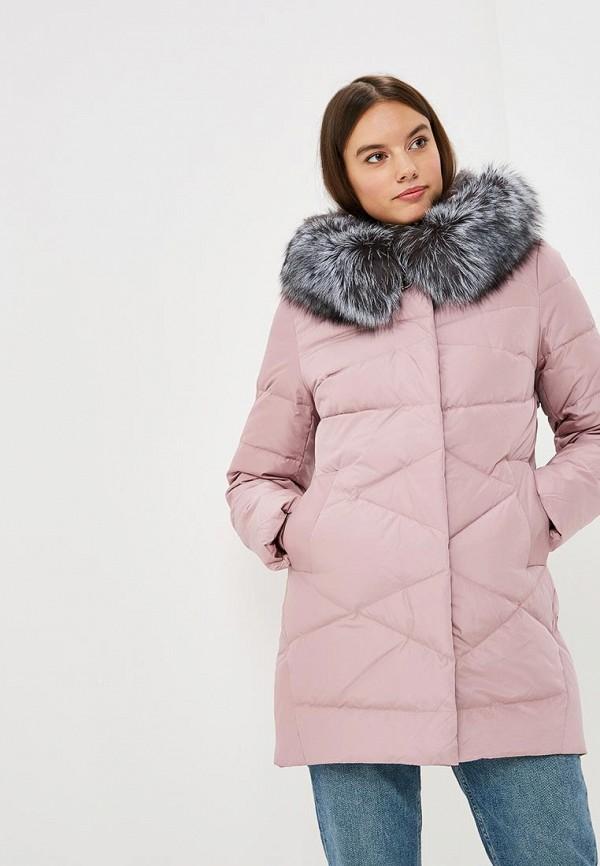 Купить Пуховик Lusio, lu018ewczkt1, розовый, Осень-зима 2018/2019