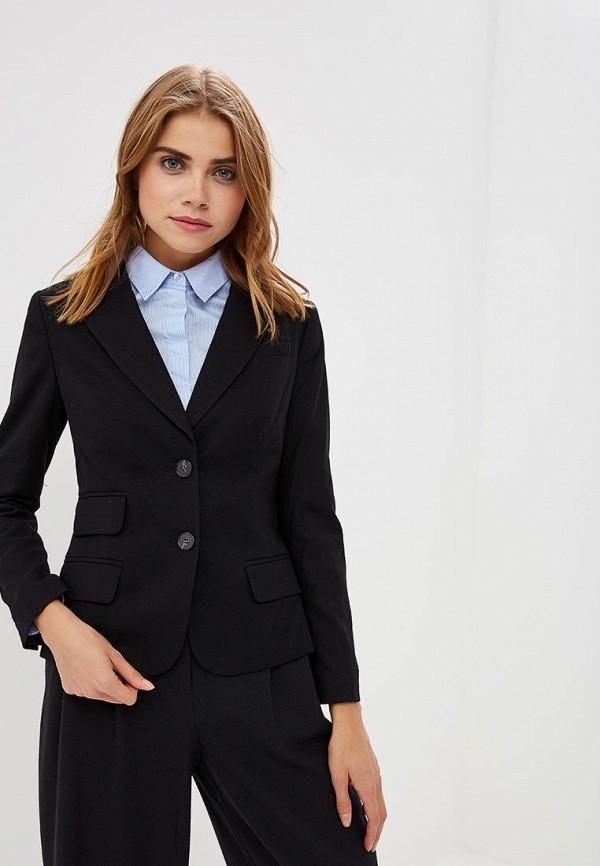 Купить женский пиджак Lusio черного цвета