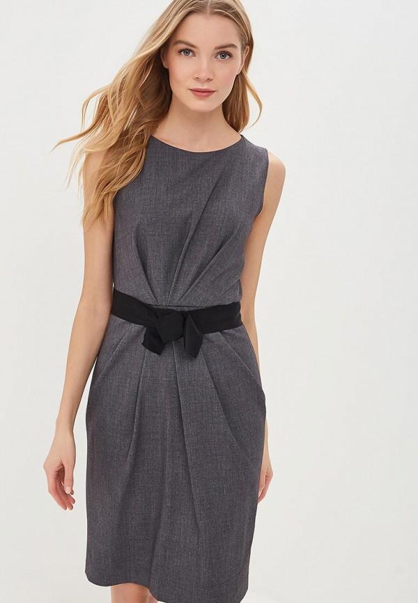 Купить женское платье Lusio серого цвета