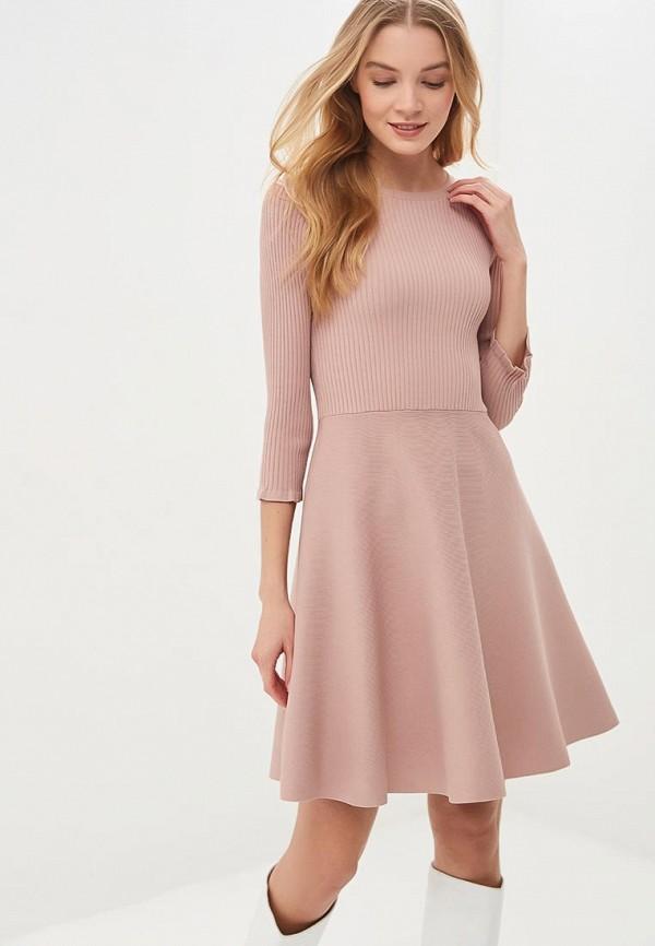 женское платье lusio, розовое