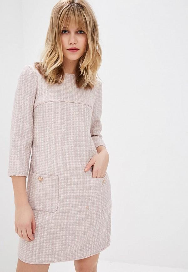 Купить Платье Lusio, lu018ewdrms8, розовый, Осень-зима 2018/2019
