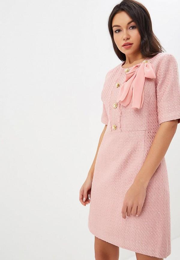 Купить Платье Lusio, lu018ewdvpm3, розовый, Осень-зима 2018/2019