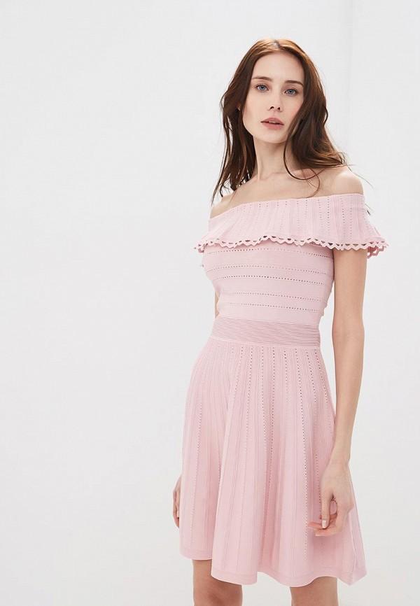Фото - женское платье Lusio розового цвета
