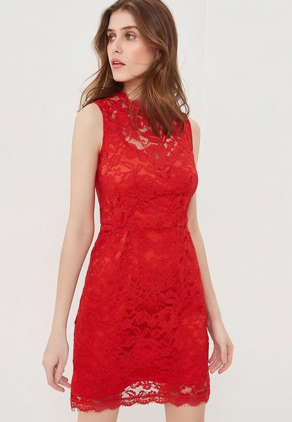 женское вечерние платье lusio, красное