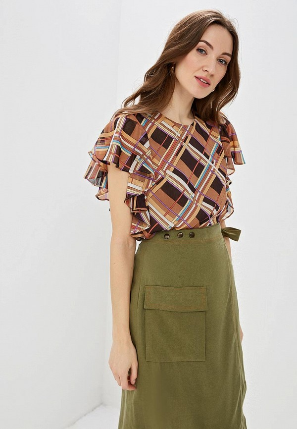 Блуза Lusio Lusio LU018EWEYIY3 блуза lusio lusio lu018ewayjp9