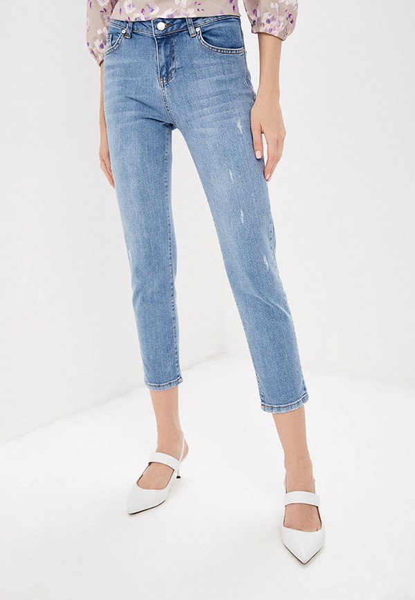 Фото - женские джинсы Lusio голубого цвета