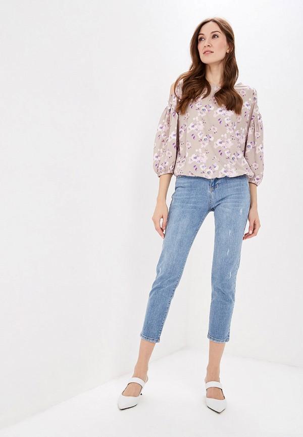 Фото 2 - женские джинсы Lusio голубого цвета