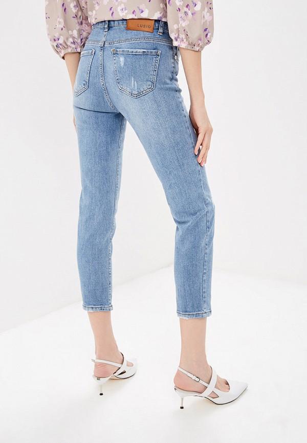 Фото 3 - женские джинсы Lusio голубого цвета