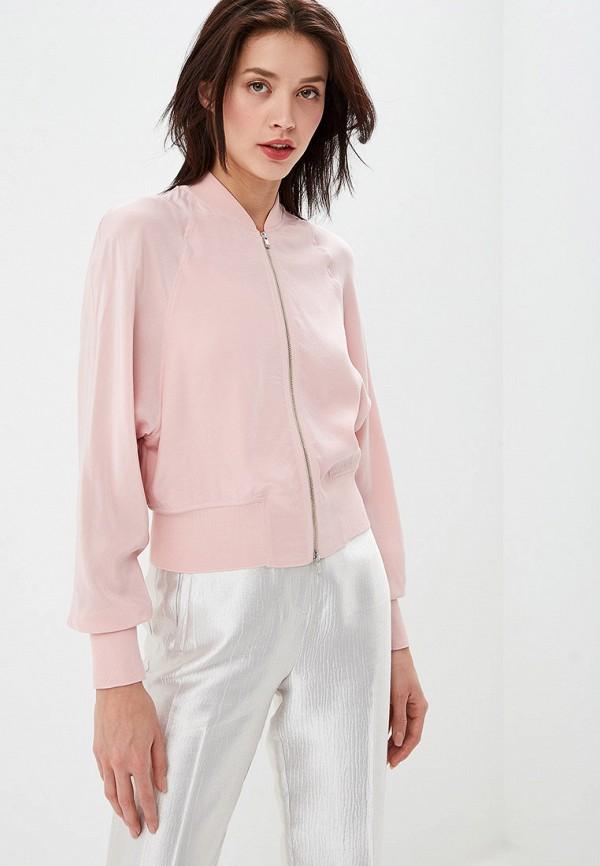 женская олимпийка lusio, розовая