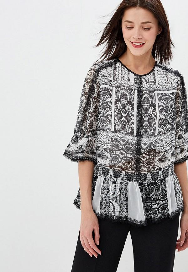 Фото - женскую блузку Lusio серого цвета