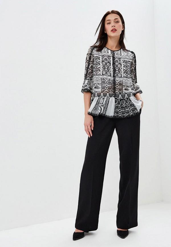 Фото 2 - женскую блузку Lusio серого цвета