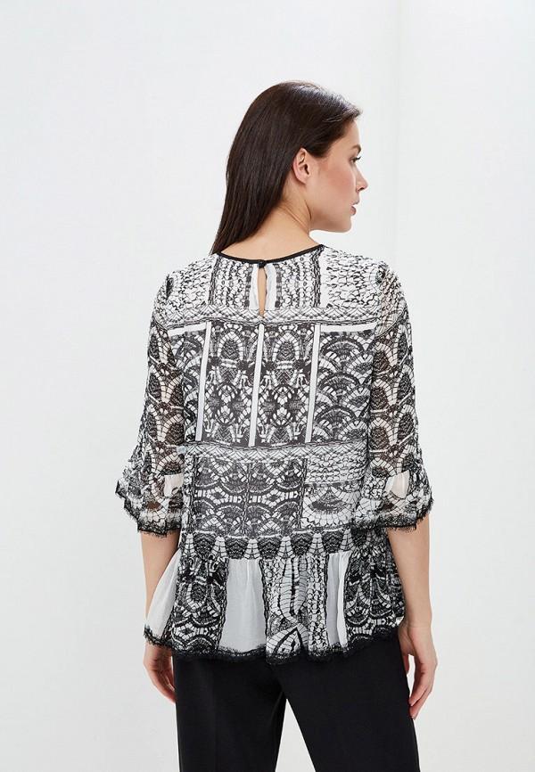 Фото 3 - женскую блузку Lusio серого цвета