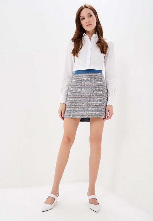 Фото 2 - женскую юбку Lusio разноцветного цвета