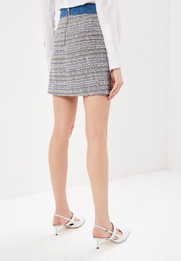 Фото 3 - женскую юбку Lusio разноцветного цвета
