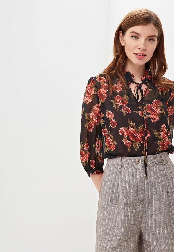 женская блузка lusio, черная
