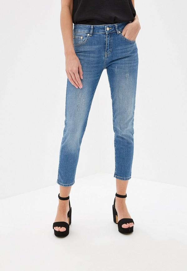 Купить женские джинсы Lusio синего цвета