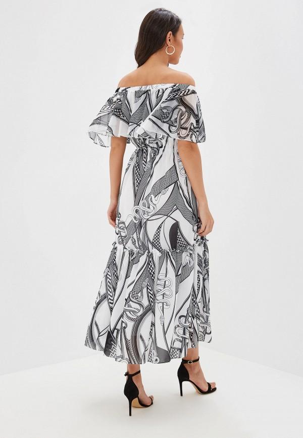 Фото 3 - женское платье Lusio разноцветного цвета