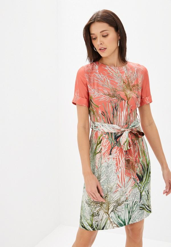 Фото - женское платье Lusio кораллового цвета
