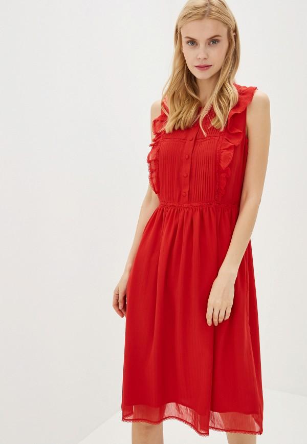Купить женское платье Lusio красного цвета