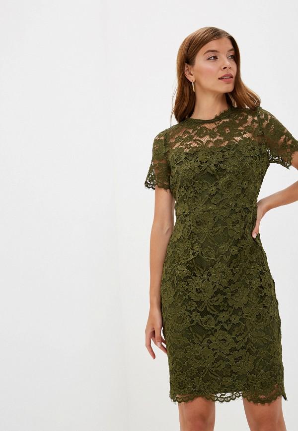 женское вечерние платье lusio, зеленое