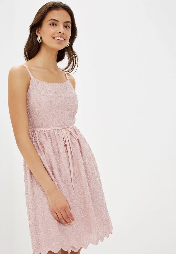 женский сарафан lusio, розовый