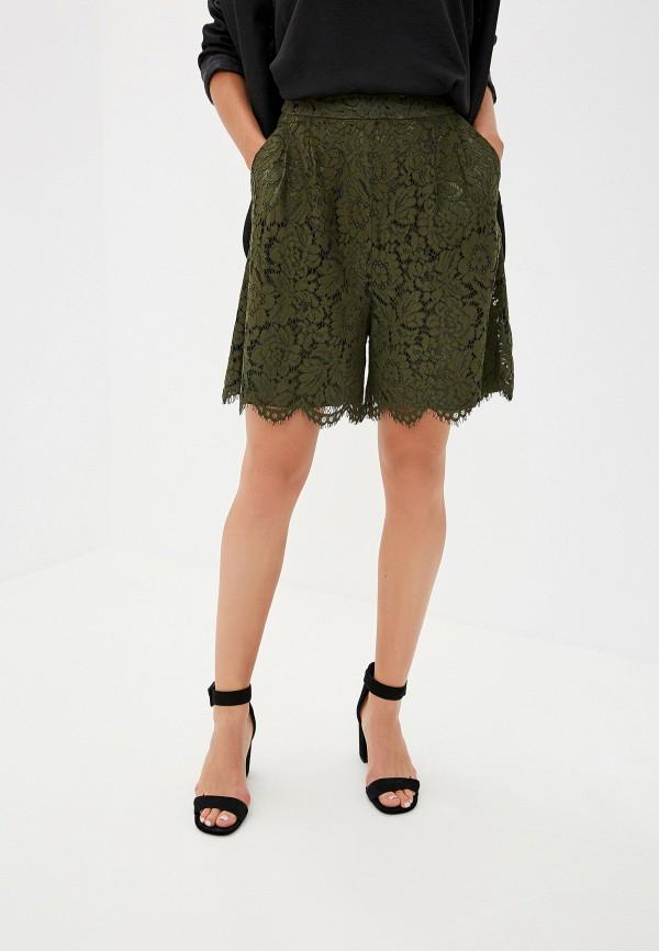 Купить женские шорты Lusio цвета хаки