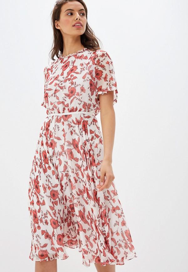 женское повседневные платье lusio, красное