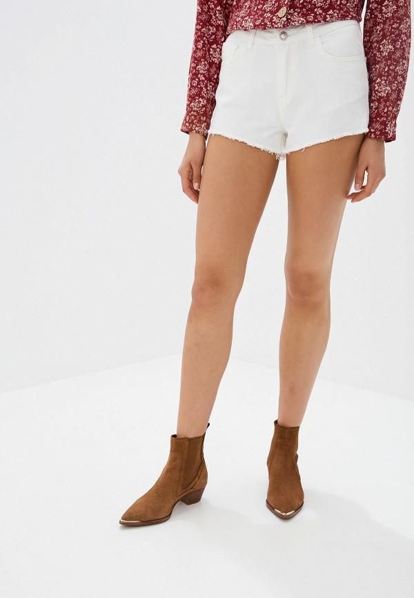 женские шорты lusio, белые