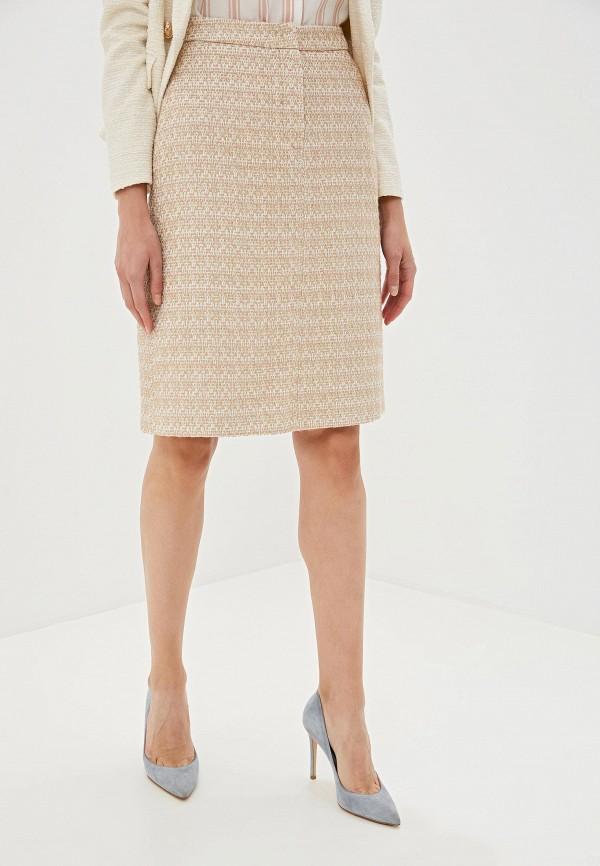 Фото - женскую юбку Lusio бежевого цвета