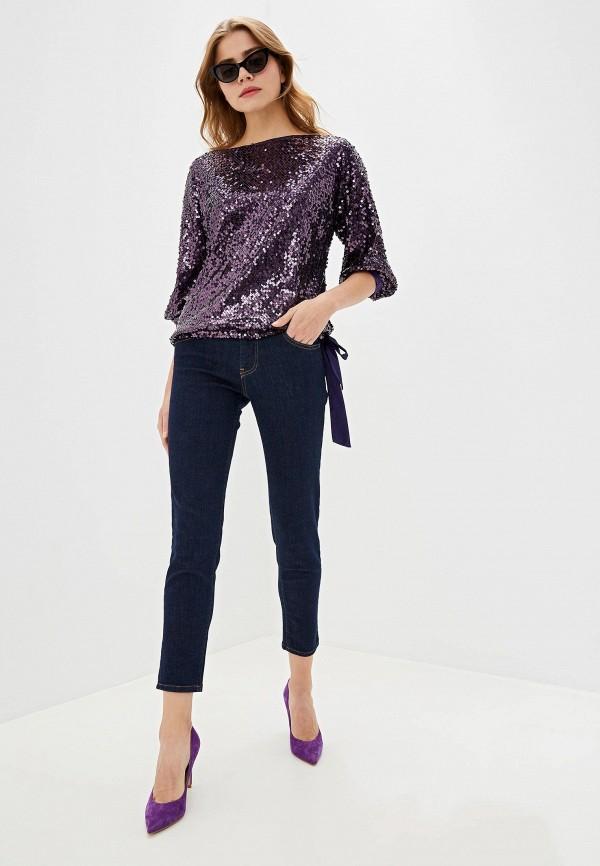 Фото 2 - женские джинсы Lusio синего цвета