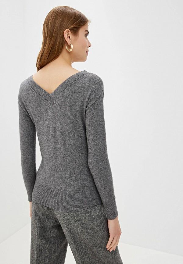 Фото 3 - женский пуловер Lusio серого цвета