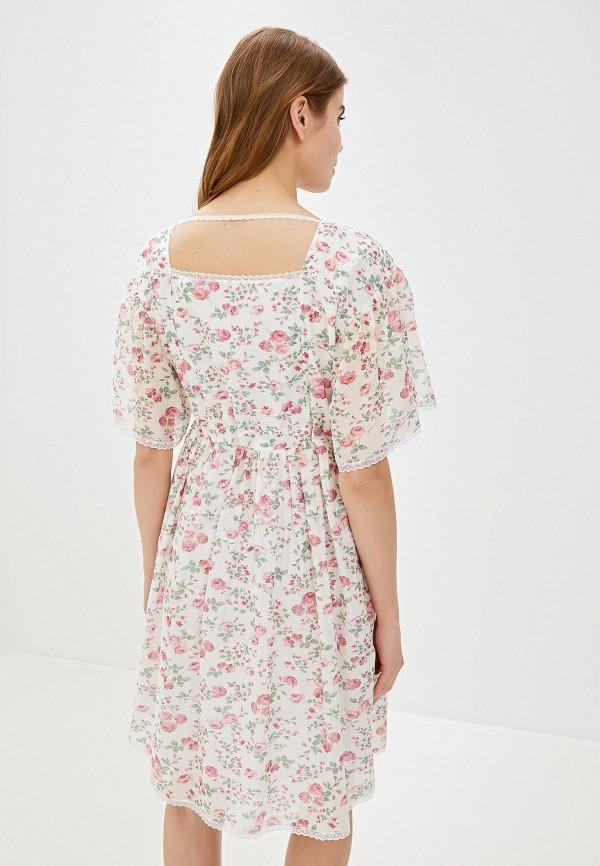 Фото 3 - женское платье Lusio белого цвета