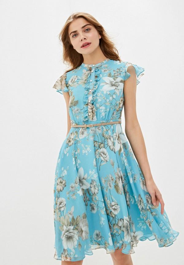 женское повседневные платье lusio, бирюзовое