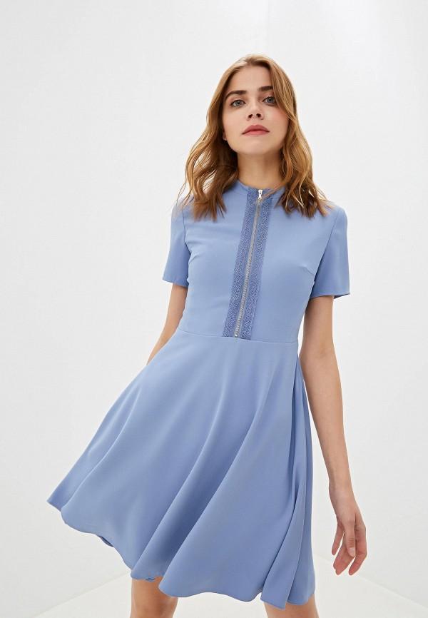 Фото - женское платье Lusio голубого цвета